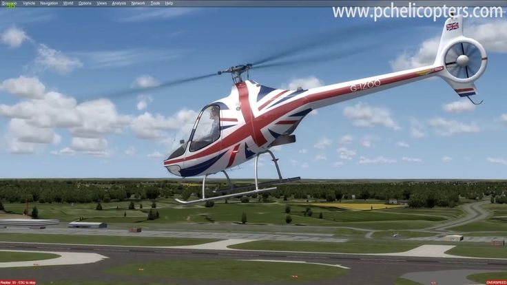 The Best P3D (Prepar3D) helicopter? A review of the Guimbal Cabri G2