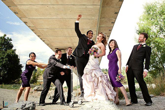 queenstown wedding bridal party