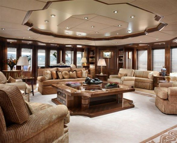 17 best images about luxury yacht interiors on pinterest boats the carnival and interiors for Living room interiors pictures