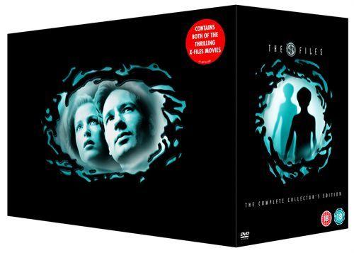 X-Files - DVD Kaudet 4-9 puuttuu