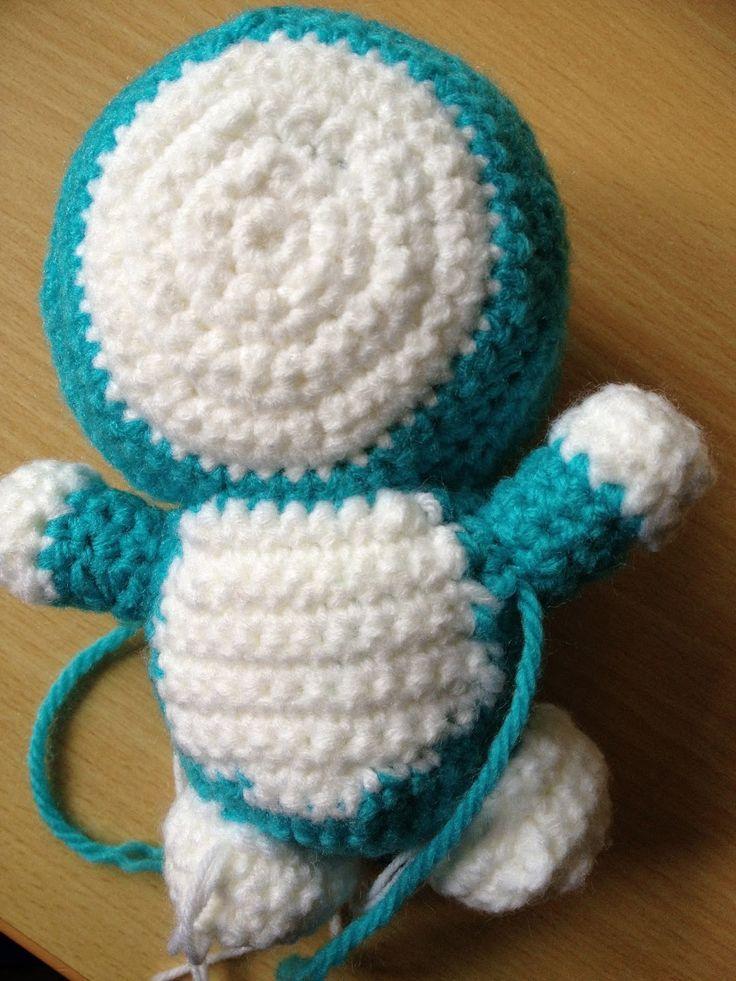Crochet amigurumi DORAEMON!!!
