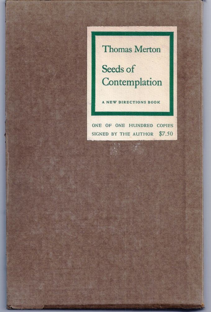 Seeds Of Contemplation By Thomas Merton On Charles Agvent Thomas Merton Merton Contemplation