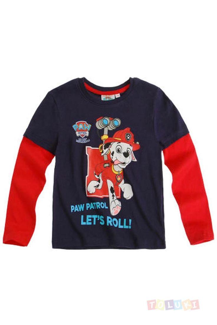 T-shirt+Pat+Patrouille+Marcus+le+dalmatien