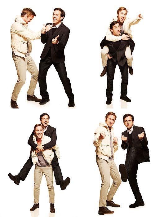 Ryan Gosling and Steve Carell. Favorites <3