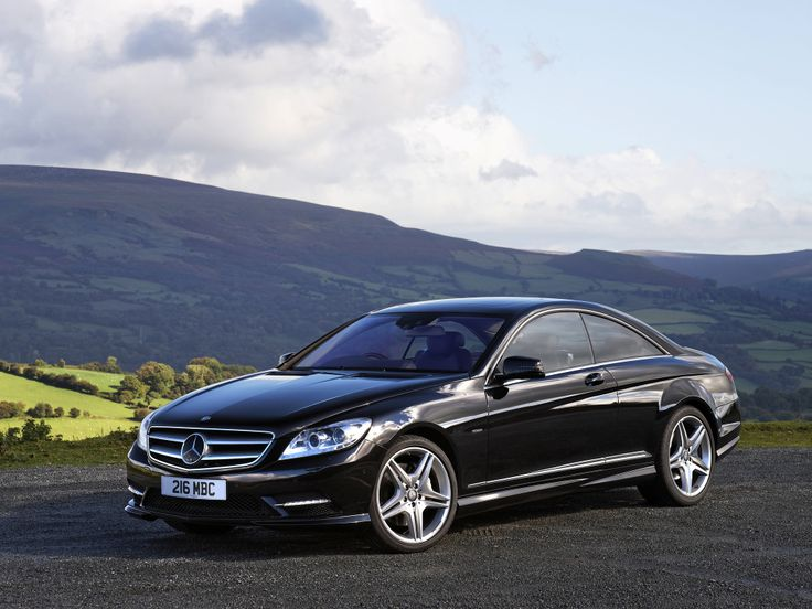 Mercedes-Benz CL 500 AMG Sports Package UK-spec (C216) '2010–13