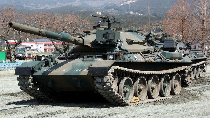 type 74 nana yon | 74式戦車 ・ Type 74 Nana-yon