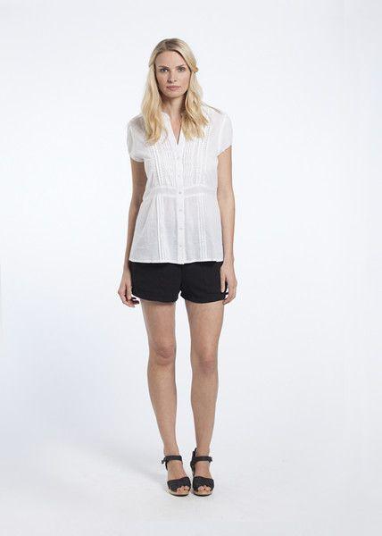 Jasmin in White from High End Summer range - KAJA Clothing