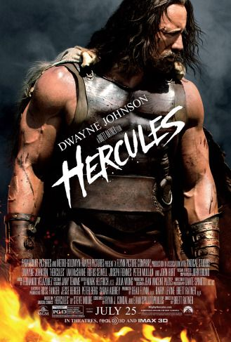 Film Review Hercules (2014) #DwayneJohnson #TheRock