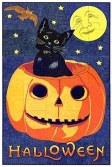 Vintage Halloween Mural $5