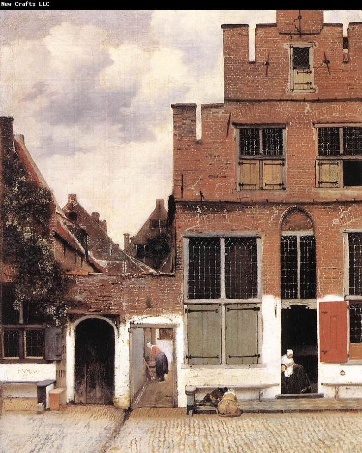 Jan Vermeer  The littl...