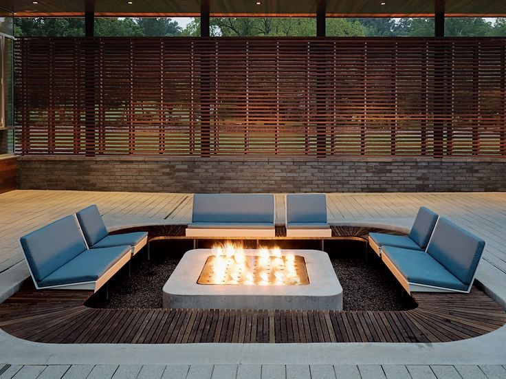 15 best images about sunken fire pits on pinterest heart for Sunken outdoor seating
