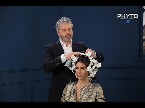 Comment réaliser un chignon flou - avec The DailyDeb, par Anthony Cristiano & Phyto - YouTube