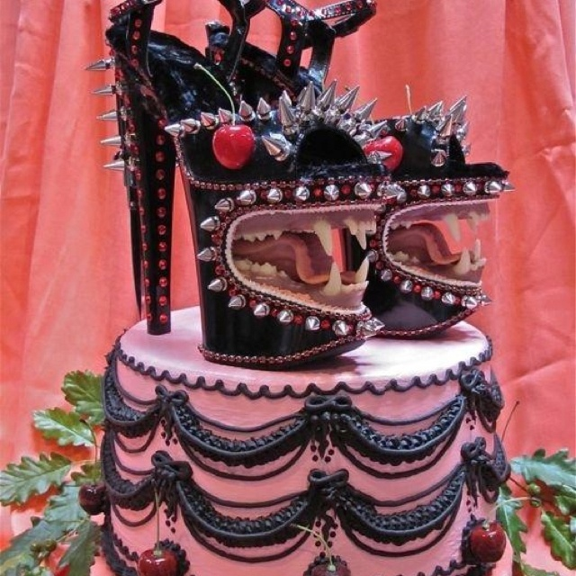 Scary Cake Food Desserts Pinterest Scary Cakes Cake And