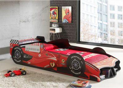 Lit voiture F1 FURY prix promo 3Suisses 299.50 € TTC au lieu de 425.00 €