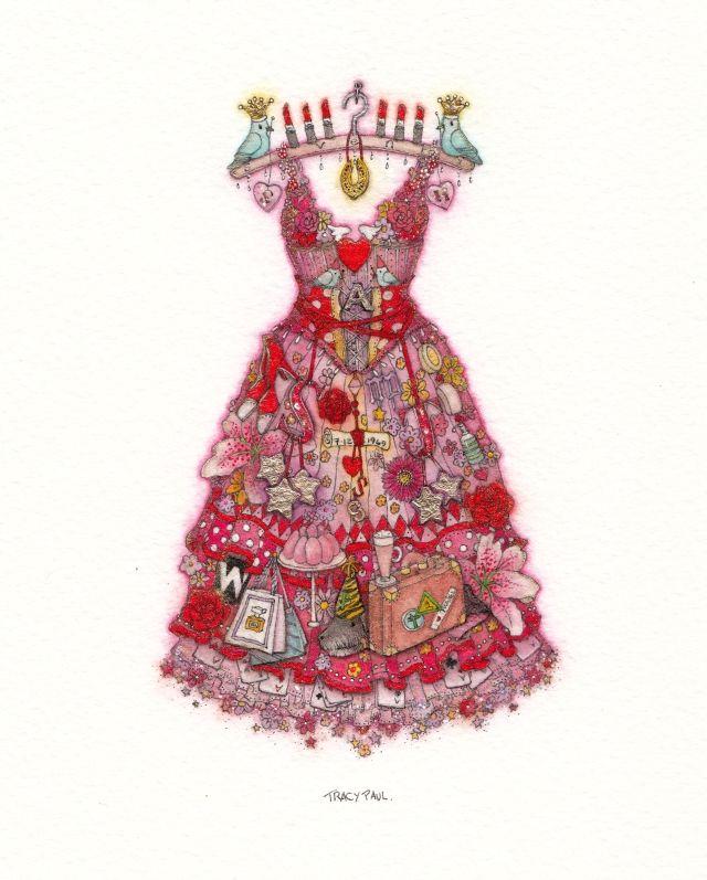 Adrienne's 70th Birthday Dress