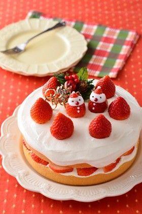 バター好きの♪Xmasショートケーキ by ラーマ♪ [クックパッド] 簡単 ...