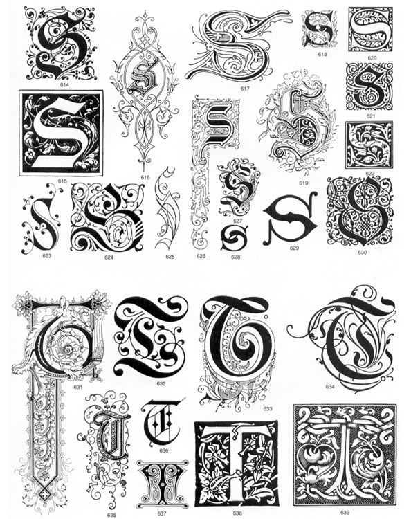 Welcome to Dover Publications Ornate Letters and Initials CD-ROM and Book