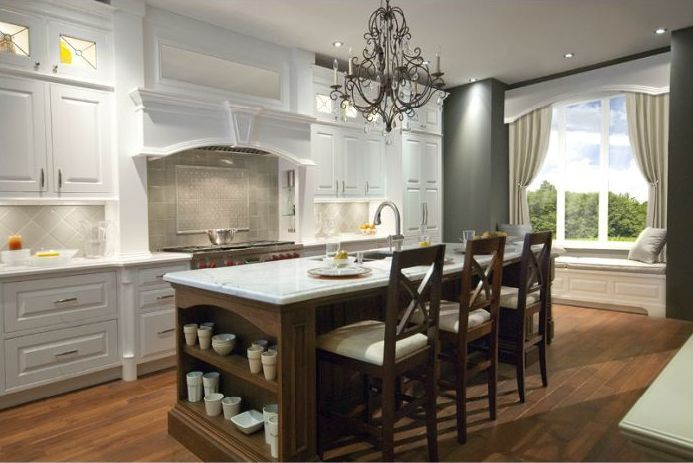 #kitchen of the day - British Colonial fine cabinetry