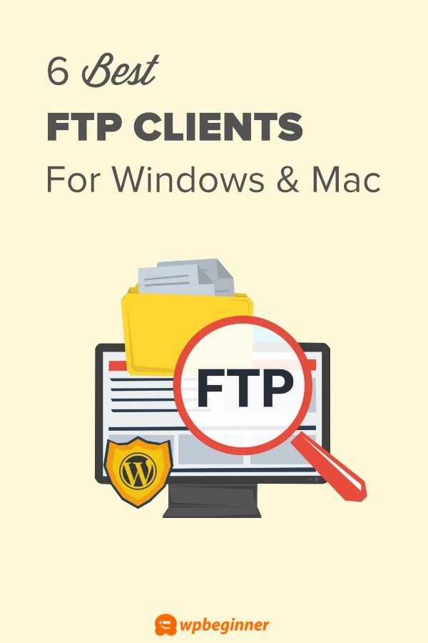 6 Best FTP Clients for Mac and Windows Users (2019) | WPBeginner