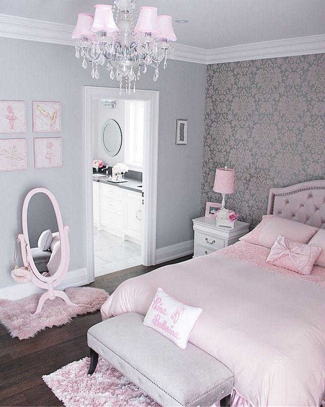 25 Bedroom Paint Ideas For Teenage Girl: Pink Bedroom Design, Pink