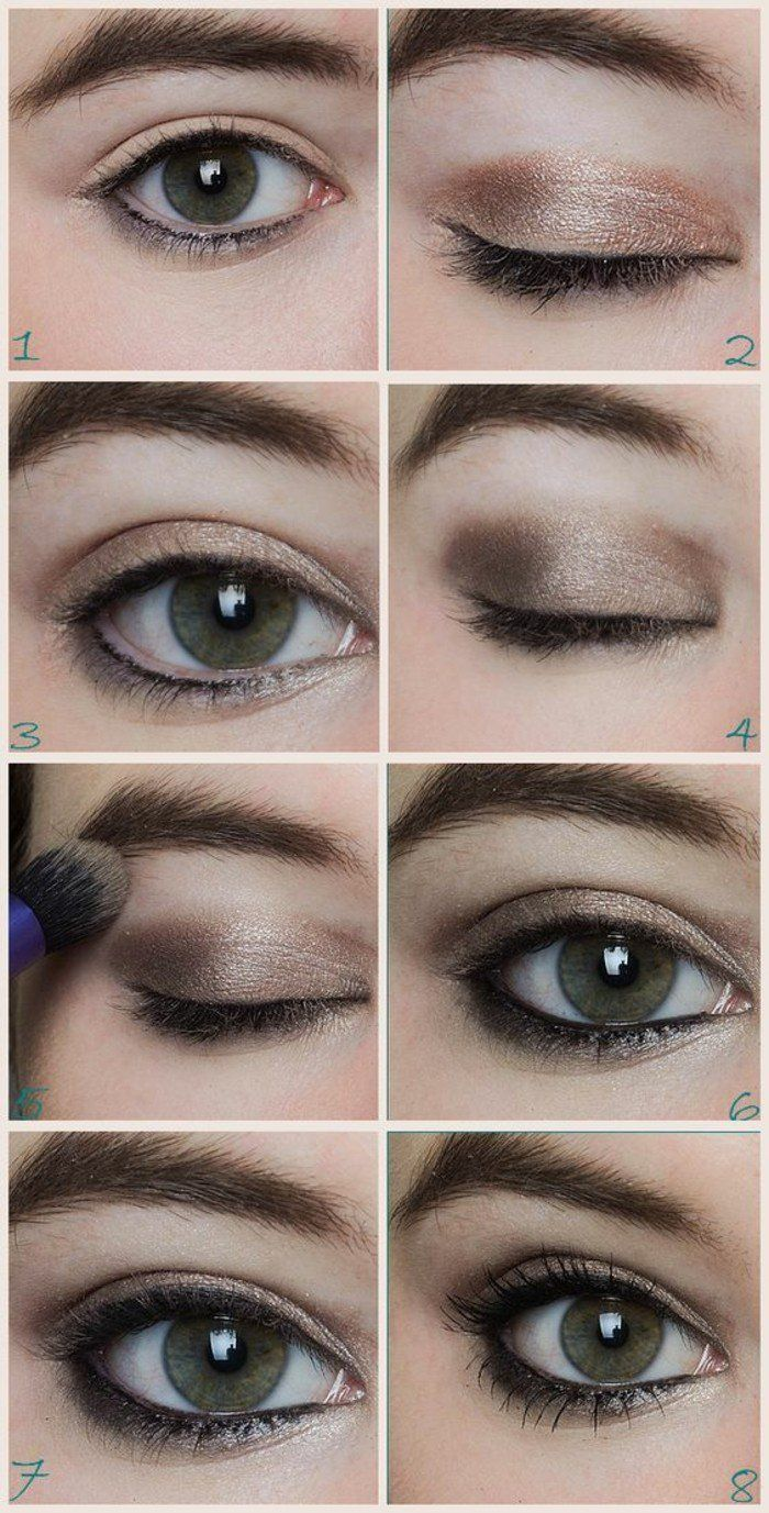 1000 ideas about yeux marron vert on pinterest maquillage yeux marron vert sun kissed makeup and les yeux marrons - Tuto Maquillage Mariage