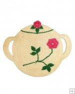 One of Five Crochet Vintage High Tea Potholders - Sugar Bowl  Shop Now http://www.maggiescrochet.com/vintage-high-tea-potholders-p-2056.html