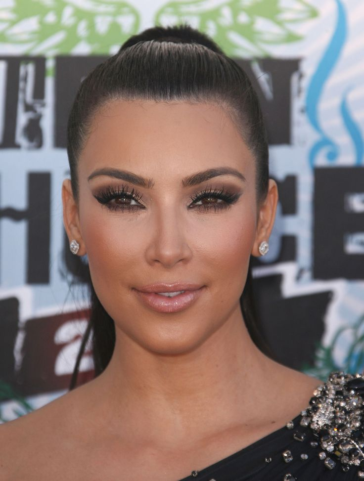 brown bronze eyes makeup kim kardashian looks makeup