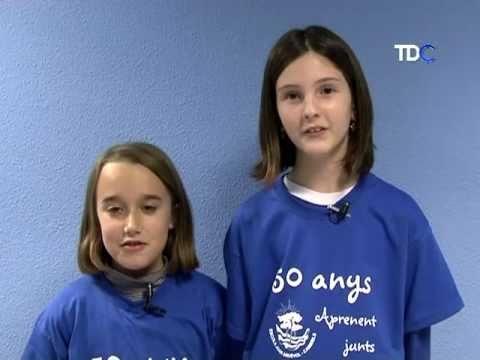 Els nens i nenes del Club de Lectura Infantil reciten poemes de Joana Raspall