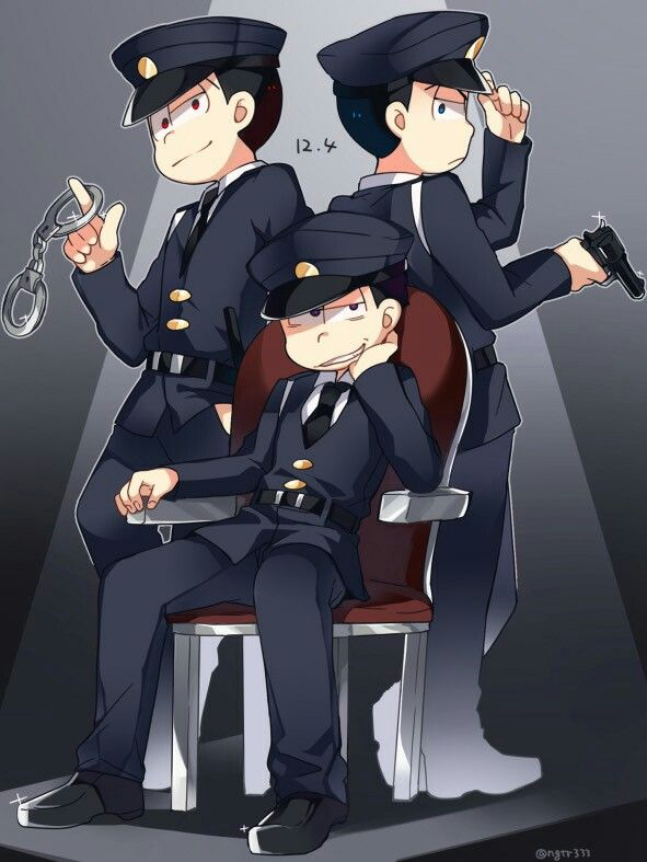 Osomatsu-san- Osomatsu, Choromatsu, Ichimatsu #Anime「♡」