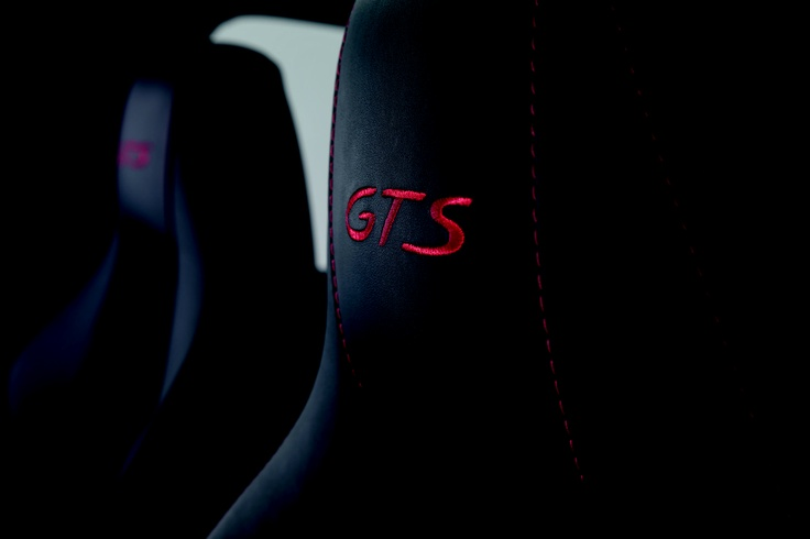 Porsche Panamera GTS head restraints - It's all in the details...