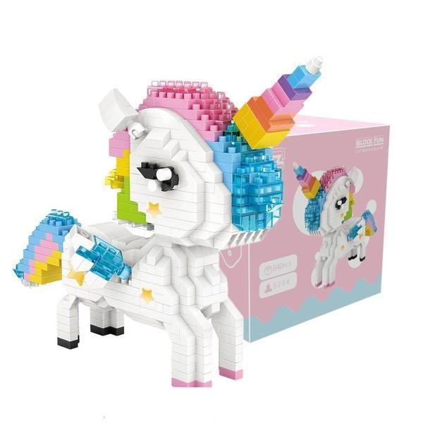 Unicorn Blocks Toys For 6 Years Old Girl Unicorn Toys Lego