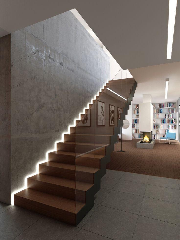 Wnętrza - Projekty Indywidualne - Projekt Wnętrz Domu Jednorodzinnego w Bukowcu - ArchikonDESIGN