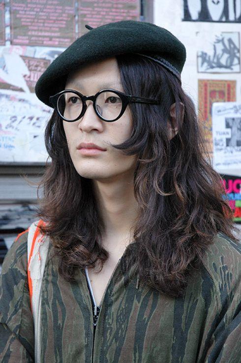 ストリートスナップ原宿表参道 - かっちゃんさん ... ベレー帽: 古着; Photo by: MARLENE