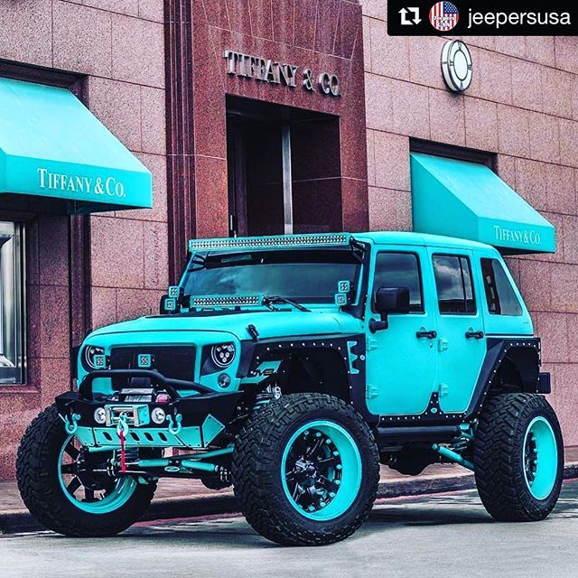 ℛℰ I ℕnℰd By Averson Automotive Group Llc Custom Jeep Blue Jeep