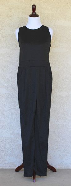 Petite Black Jumpsuit