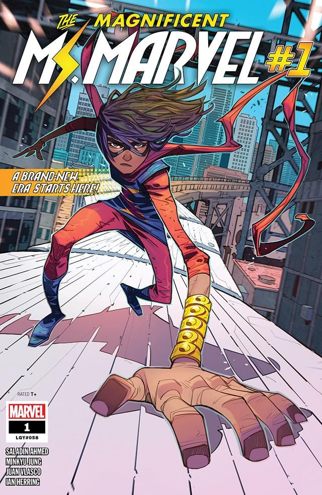 Saladin Ahmed Previews Today S Launch Of Magnificent Ms Marvel 1 Marvel Historietas Marvel Cómics