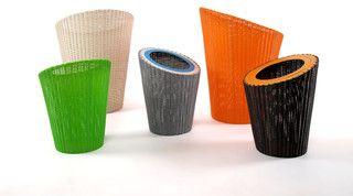 Lebello Indoor/ Outdoor Round Basket - Penguin - modern - waste baskets - other metro - by Lebello - Modern Outdoor Living