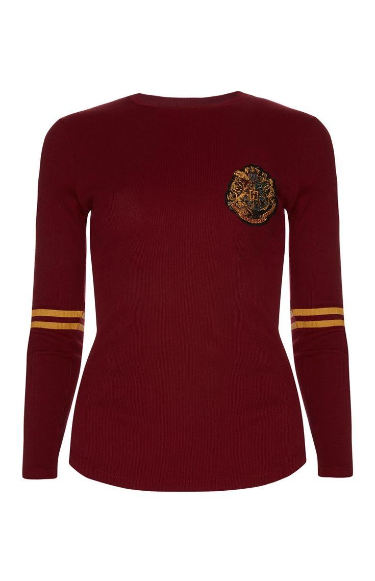 Primark - Rode trui met Harry Potterprint