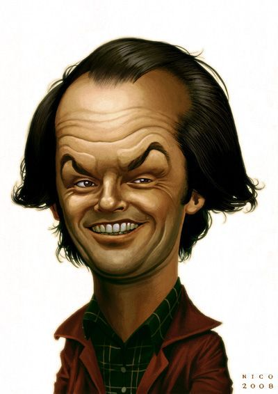 caricatures of famous people | Jack by ~ElectroNic0 on deviantART | Caricatures of Famous People!