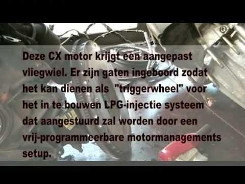 Koppelingswissel CX GTi Turbo door Renard Automobiles