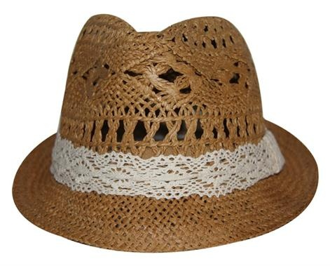 Coastal Fedora    Price: $29.95  Gorgeous coastal fedora - look chic and stylish whilst also protecting yourself from the sun this summer!    Colour: natural straw with white band