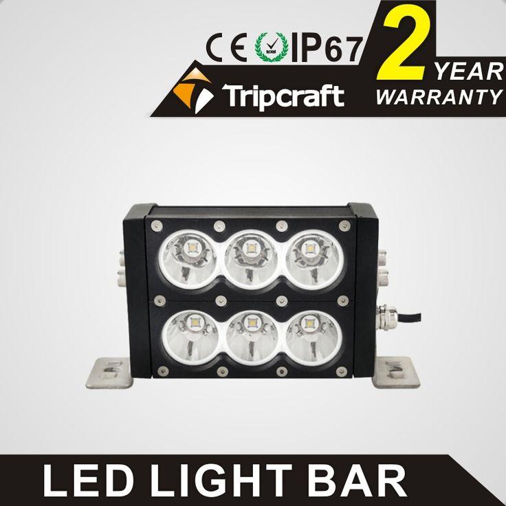 6'' LED LIGHT BAR 60W LED Headlight bar for Truck SUV Offroad Work Light 4WD Boat UTE ATE 4X4 LED Headlight Spot or Flood Beam