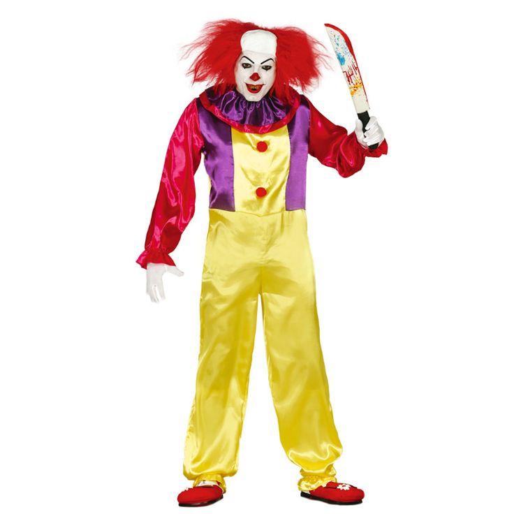Disfraz de Payaso Asesino Pennywise #disfraces #halloween