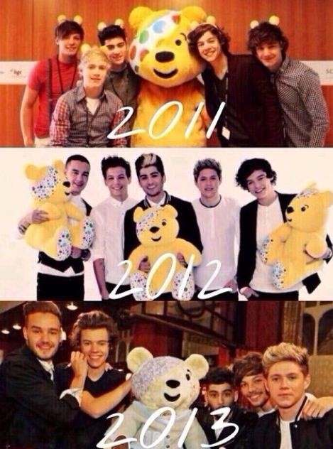 They've changed so much:') It brings a tear to my eye!