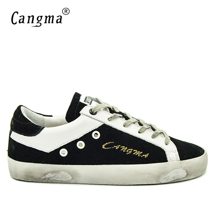 ==> [Free Shipping] Buy Best CANGMA Italy Original Brand Casual Men Shoes Spring Autumn Lace Up Black Cow Suede Male Leisure Shoes Sapato Masculino Plus Size Online with LOWEST Price | 32816486868