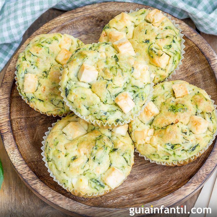 Para la merienda o una fiesta de cumpleaños prepara una receta para niños de muffins cuatro quesos, rico y esponjoso aperitivo. En Guiainfantil.com te enseñamos a preparar unos deliciosos muffins salados.