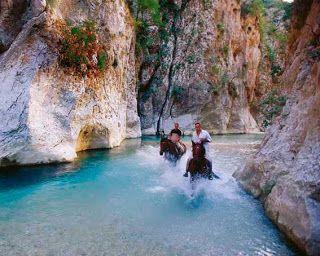 Acheron, the mythical river of Epirus!!so beautiful...
