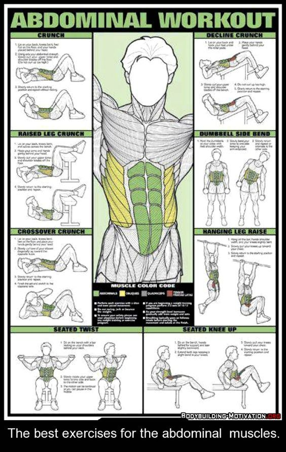 Abs of Steel | 6 pack abs workout, Abs workout routines