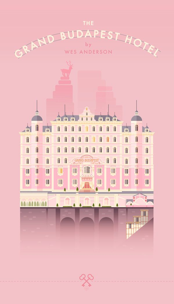 The Grand Budapest Hotel | #movieposter #design #thegrandbudapesthotel