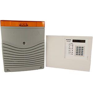 Sistema antirrobo con comunicador GSM: avisa a móviles y activa una sirena exterior para alarma antirrobo. Evita el robo de cable de cobre.